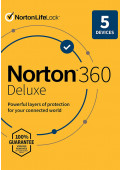 Norton 360 Deluxe (5 Devices / 1 Year)