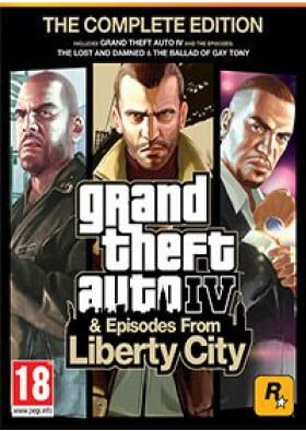 Grand Theft Auto - GTA - IV Complete Edition