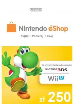 Nintendo eShop Pre-paid - 250 PLN