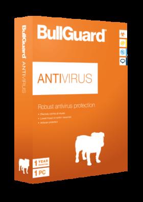 BullGuard Antivirus 1 PC / 1 Year