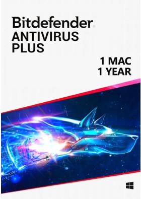 Bitdefender Antivirus (1 Mac / 1 rok)
