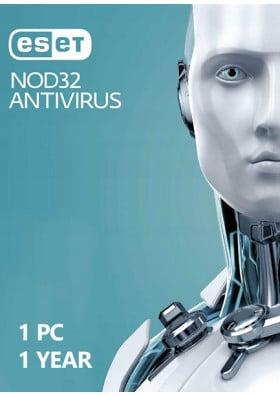 ESET NOD32 Antivirus  (1 PC / 1 Year)