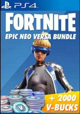 Fortnite Neo Versa Bundle + 2000 V-Bucks