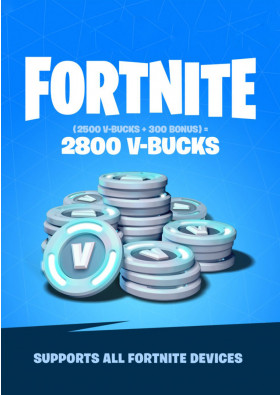 Fortnite 2800 V-Bucks Gift Card