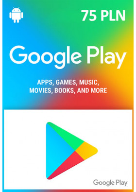 Google Play - 75 PLN