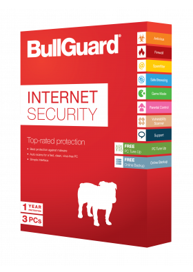 BullGuard Internet Security 3 PC / 1 YEAR
