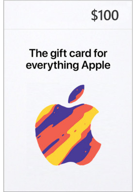 iTunes $100 Prepaid Card - USA