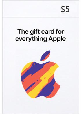 iTunes $5 Prepaid Card - USA