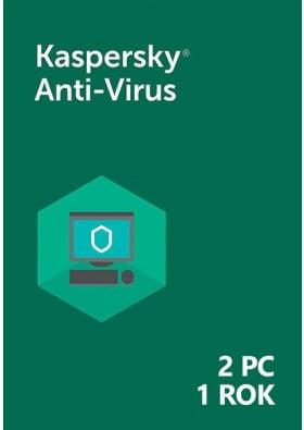 Kaspersky Anti-Virus (2 PC / 1 rok) - PL