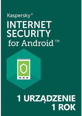 Kaspersky Internet Security for Android (1 urządzenie / 1 rok) - PL
