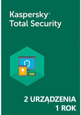 Kaspersky Total Security (2 urządzenia / 1 rok) - PL