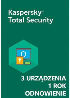 Kaspersky Total Security (3 urządzenia / 1 rok) - Odnowienie - PL