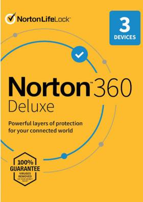 Norton 360 Deluxe (3 urządzenia / 1 rok)