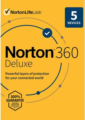 Norton Security Deluxe (5 urządzeń / 18 miesięcy)
