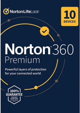 Norton 360 Premium (10 urządzeń / 1 rok)