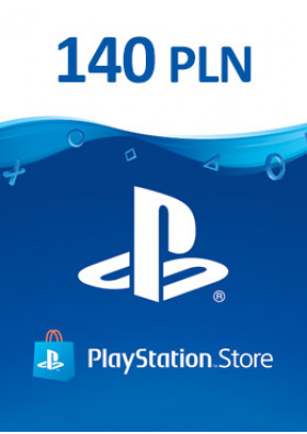 PlayStation Network Prepaid 140 PLN - PL