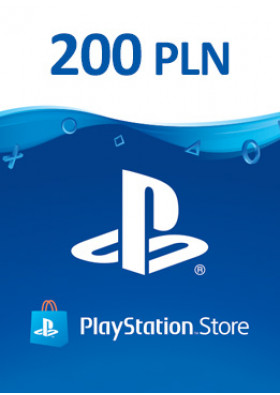 PlayStation Network Prepaid 200 PLN