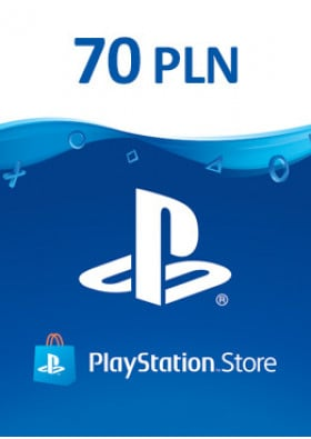 PlayStation Network Prepaid 70 PLN - PL