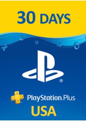 PlayStation Plus Prepaid - 30 dni - USA