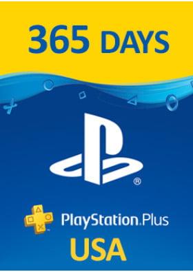 PlayStation Plus Prepaid - 365 dni - USA