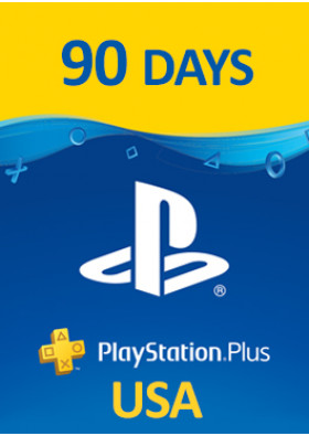 PlayStation Plus Prepaid - 90 dni - USA