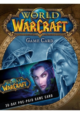World of Warcraft 30 Day Pre-Paid Time Card - EU