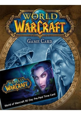 World of Warcraft Prepaid 90 dni - EU