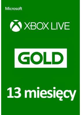 Xbox Live Gold 13 Miesięcy