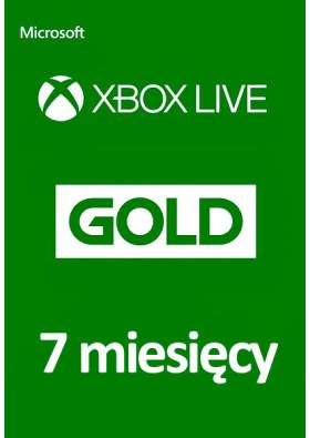Xbox Live Gold 7 Miesięcy