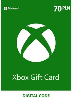 Xbox Prepaid - 70 PLN - PL