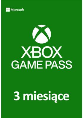 Xbox Game Pass - 3 miesiące