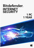 Bitdefender Internet Security (1 PC / 1 rok)