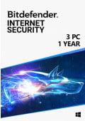 Bitdefender Internet Security (3 PC / 1 rok)