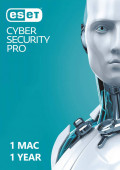 ESET Cyber Security Pro (1 Mac / 1 Year)