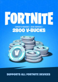Fortnite 2800 V-Bucks Gift Card