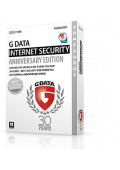 G DATA INTERNET SECURITY 3 PC / 1 YEAR