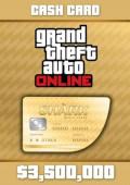 Grand Theft Auto Online Prepaid - $3,500,000
