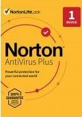 Norton AntiVirus Plus (1 PC/Mac / 1 rok)