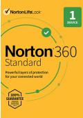 Norton 360 Standard (1 urządzenie / 1 rok)