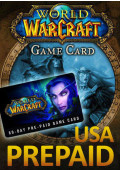 World of Warcraft 60 Day Pre-Paid Time Card - US