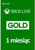 Xbox Live Gold 1 Miesiąc
