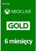 Xbox Live Gold 6 Miesięcy