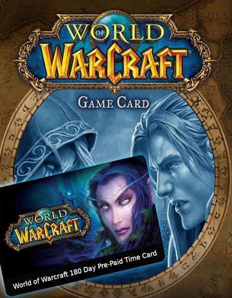 World of Warcraft Prepaid 180 dni - EU